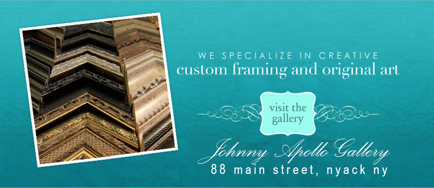 Rocklandart Art offers the finest custom framing in Nyack, NY Rockland County.